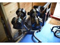 Bodymax 32.5kg Dumbbells and Stand