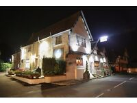 Waiting & Front of House Staff Needed Now for Exciting New Pub Restaurant.