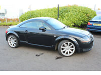 MY AUDI TT QUATTRO 1.8T COUPE MOT 1 YEAR £2000 SPENT ON NEW PARTS