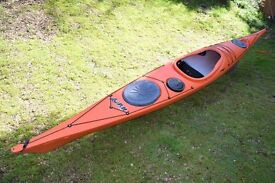 Sea Canoe as new P&H Capella 166 (16') in Lava. Only used ounce from new, Always stored under cover