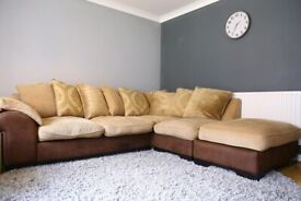 Great Condition Large Corner Sofa (DFS)