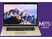 15.4' APPLE MACBOOK PRO RETINA DISPLAY 2.3GHZ CORE i7 16GB RAM 500GB SSD MUSIC FILM PHOTO CAD APPS