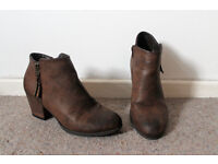 New Look Brown Boots - £5