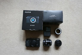 Fujifilm XE2 Camera with lenses