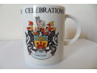 Rare Old Newcastle under Lyme Royal Doulton 1173- 1973