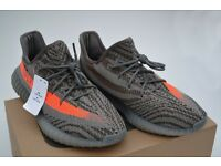 Adidas Yeezy 350 Boost V2 Beluga / Solar Red UK 9.5