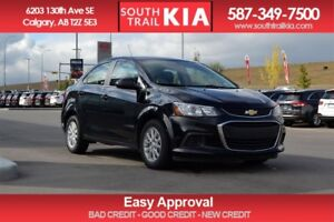 2017 Chevrolet Sonic LT BLUE TOOTH ALLOY WHEELS