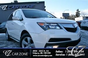 2010 Acura MDX 7 PASS, LEATHER, SUNROOF, BACKUP CAM