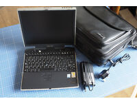 Toshiba Portege 4010 Laptop Notebook Complete, For Spares or Repair, Stuck on BIOS Password