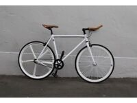 JanuarySale GOKUCYCLES Steel Frame Single speed road bike track bike fixed gear racing fixie 1