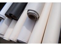 Photographic Background Paper -11 Part-rolls 2.72m - Well Used but Useful