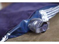Single inflatable mattress + Foot Pump