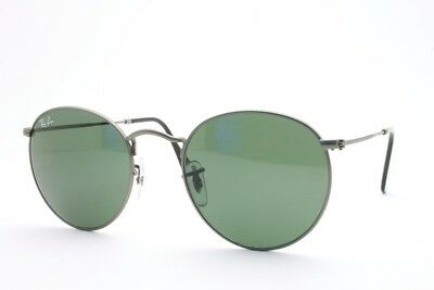 AUTHENTIC  RAY BAN  RB 3447 ROUND METAL  029  SUNGLASSES  SIZE: (Ray Ban 3447 Sizes)