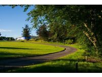 Grounds Contract for Rossie School, Montrose