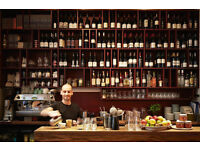 Experienced bar tender/barista required for award winning restaurant in Marylebone Village