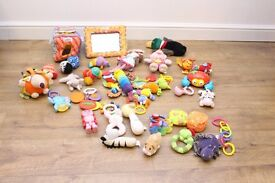 Baby Toy Bundle Mixture of toys - Mamas + Papas + Lamaze and others