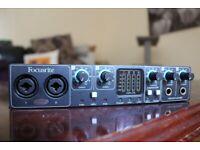 Alert Focusrite Saffire Pro 14 Audio Interface Pro Audio Equipment In Original Box