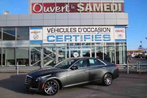 2016 Cadillac CTS SEDAN AWD LUXURY 4X4 TOUT EQUIPÉ