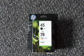 HP 45/78 Ink cartridge - 2-pack Black, colour (cyan, magenta, yellow)