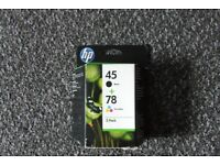 HP 45/78 Ink cartridge - 2-pack Black, colour (cyan, magenta, yellow)