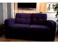 DFS double seats sofa bed