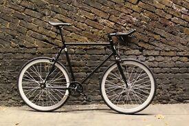 Christmas sale!!! Steel Frame Single speed road bike track bike fixed gear racing fixie bicycle hhy
