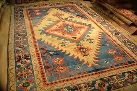 Turkish Kazak carpet. Size: 3.64 x 2.38 mt