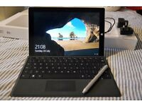 Microsoft Surface 3 128GB 4GB Ram with Surface Cover, Pen and HDMI adapter