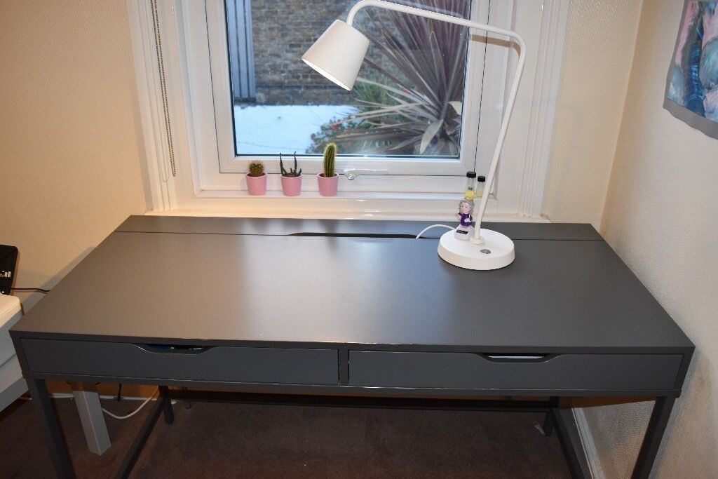 IKEA Alex Desk grey | in Hammersmith, London | Gumtree