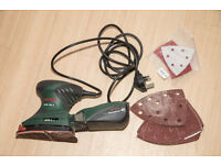 Three 240v Sanders - Belt sander, orbital sander and delta sander