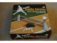 NEW - Instant Table Tennis Game