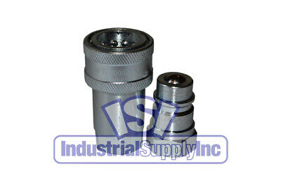 Quick Coupler Iso 7241-1 A 12 Npt Pipe Thread 6600 Series Ag I Set