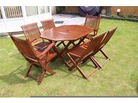 Hardwood Patio Furniture