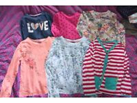 5-6 and 6-7 girls clothes. £7 for bundle.