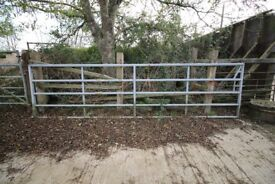 Used Farming field and yard galvanised gates for sale - Varying in size and condition