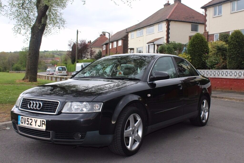 black audi a4 interior. audi a4 25 tdi 2003 black sport full leather interior