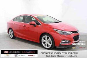 2016 Chevrolet CRUZE Premier RS *GPS CUIR TOIT OUVRANT*