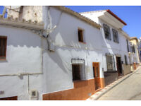 Beautiful 2 bed 1 bath townhouse in Riogordo, Spain