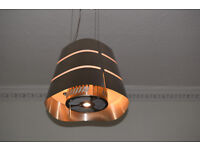 Elica suspended cooker hood in excellent condition.