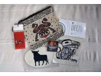 ** NEW ** Native American related items - zipped bag, 2 decals, magnetic bookmark. £4 ovno the lot
