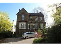 Recently Redecorated Three Bedroom Garden Flat Occupying Ground Floor Of This Grand Period House