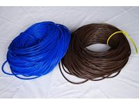 PVC Sleeving (insulation) - Electrical 3mm Blue & Brown
