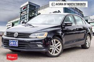 2015 Volkswagen Jetta Highline 1.8T 6sp at w/Tip Accident Free|