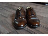 Hand made Samuel Windsor mens formal shoes