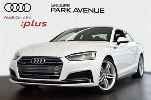 2018 Audi A5 2.0 TFSI PROGRESSIV S LINE ! CERTIFIÉ INCLUS !