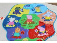 Peppa Pig Musical Mat Shapes and Colours - VGC