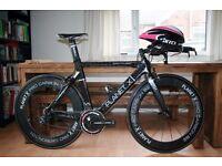 Planet X Stealth Carbon Pro Triathlon / Time Trial Bike