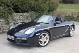 Porsche 987 Boxster S 3.2, 2005, REDUCED, 280bhp, DAB, 6 services, recent clutch, Stunning!