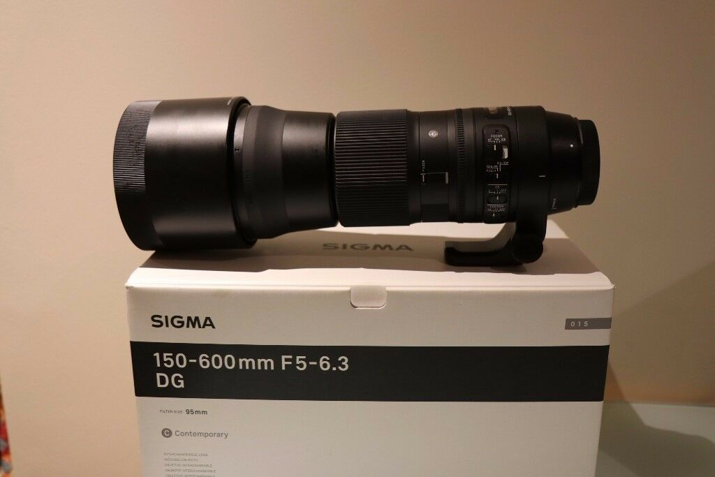 Sigma 150-600mm F5-6.3 DG OS HSM Contemporary zoom lens Canon Fit