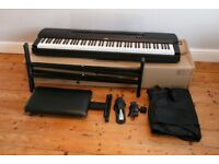 Yamaha P255 Digital Stage Piano in Black